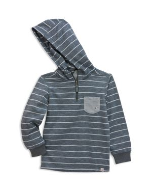 Sovereign Code Boys' Slubbed Striped French Terry Hoodie - Little Kid, Big Kid thumbnail