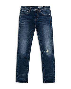 ag Adriano Goldschmied Kids Boys' Dark-Wash Distressed Skinny Jeans - Big Kid 2765845