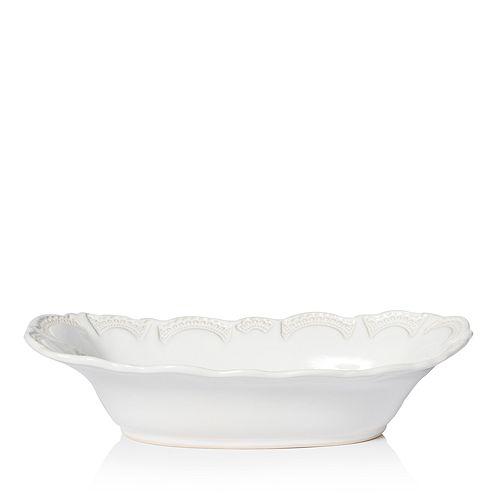 VIETRI - Incanto Stone White Lace Large Au Gratin