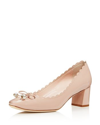 kate spade new york - Women's Danielle Patent Leather Mid Heel Pumps