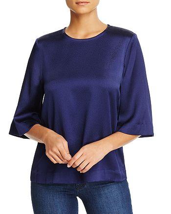 Badgley Mischka - Textured Silk Top