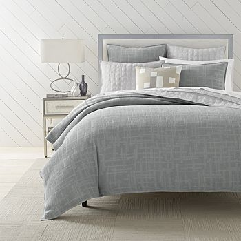 Oake - Waffle Plaid Bedding Collection - 100% Exclusive