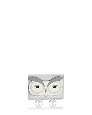 kate spade new york Owl Leather Card Holder
