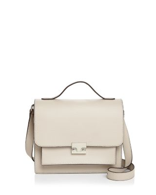 Minimal Rider Leather Satchel by Loeffler Randall