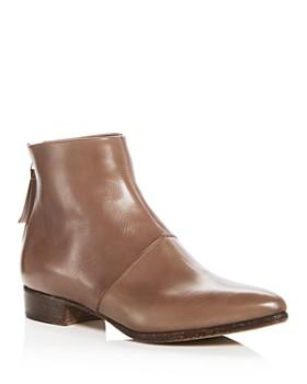Alberto Fermani - Women's Bellina Leather Low Heel Booties