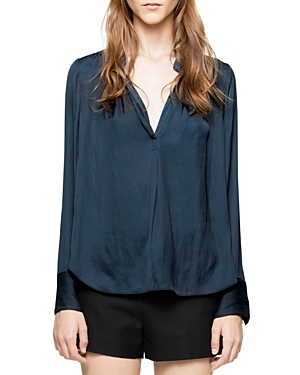 Zadig & Voltaire Tink Pleated Shirt