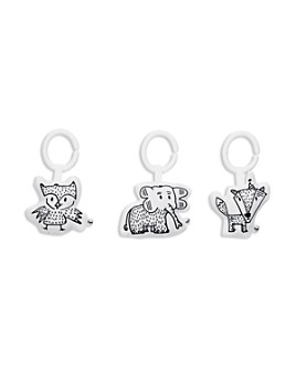 DockATot - Hanging Elephant, Owl & Fox Toy Set