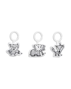 DockATot - Hanging Elephant, Owl & Fox Toy Set