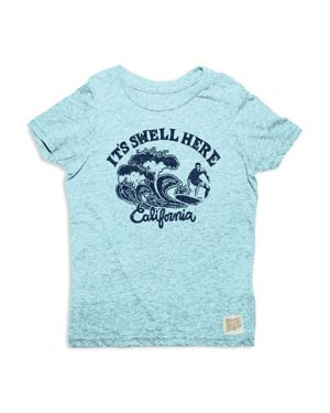 Retro Brand Boys' It's Swell Here California Surf Graphic Tee - Big Kid