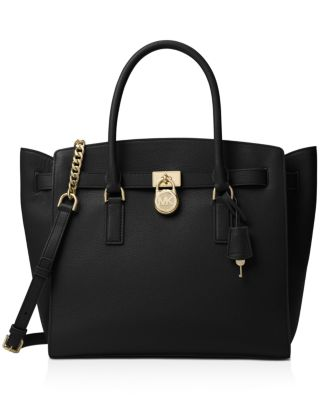 michael michael kors hamilton extra large leather satchel rh bloomingdales com