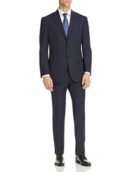 Canali - Stripe Regular Fit Suit