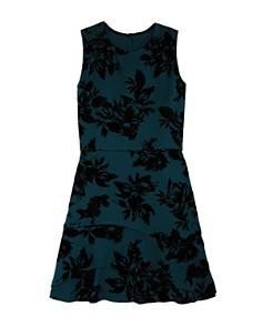 AQUA Girls' Floral Scuba Dress, Big Kid - 100% Exclusive - Bloomingdale's_0