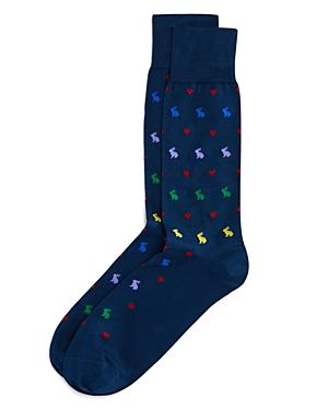 Paul Smith Valentine Rabbit Socks