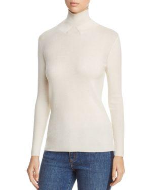 Tory Burch Jade Turtleneck Merino Wool Sweater