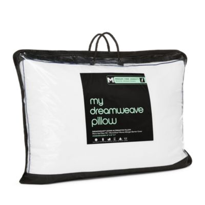 My Dreamweave Down Alternative Medium/Firm Density Pillow, Standard - 100% Exclusive