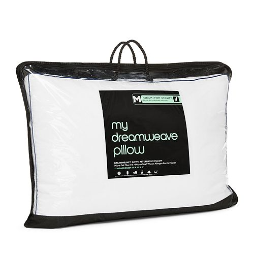 Bloomingdale's - My Dreamweave Down Alternative Medium/Firm Density Standard Pillow - 100% Exclusive