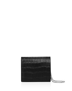 Allsaints Keel Matte Embossed Leather Wallet