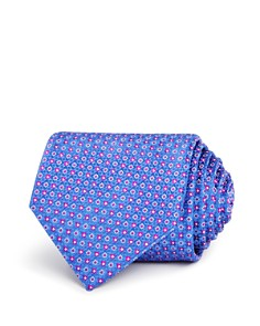 Canali Micro Circles Neat Classic Tie - Bloomingdale's_0