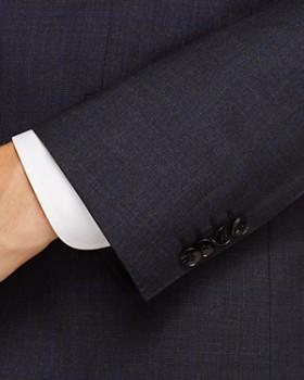 BOSS - Johnstons/Lenon Regular Fit Windowpane Suit - 100% Exclusive