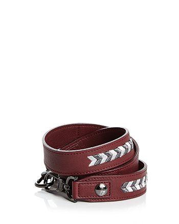 Longchamp - Paris Rocks Leather Handbag Strap