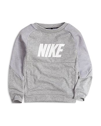 Nike - Boys' Color-Block Logo Sweatshirt - Little Kid