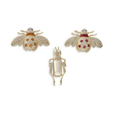 $Joanna Buchanan Jeweled Insect Decorative Clips, Set of 3 - Bloomingdale's