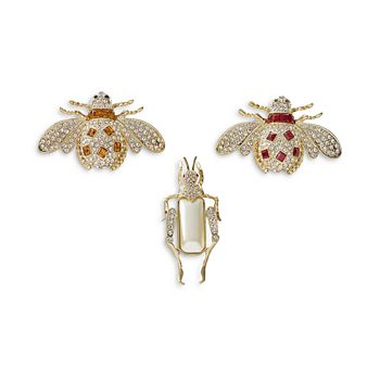 Joanna Buchanan - Jeweled Insect Decorative Clips, Set of 3