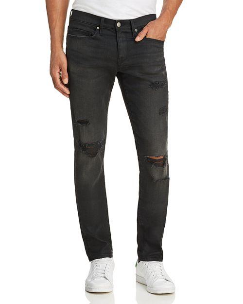 FRAME - L'Homme Slim Jeans in Flintwood
