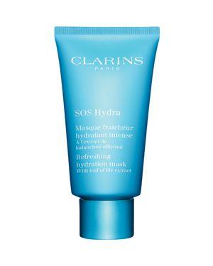 CLARINS Sos Hydra Refreshing Hydration Mask in Blue