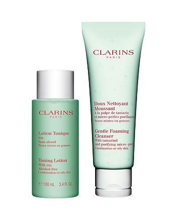 Clarins - Cleansing Essentials Gift Set for Oily, Combination Skin
