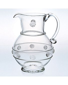 "Juliska - Juliska ""Isabella"" Round Glass Pitcher"