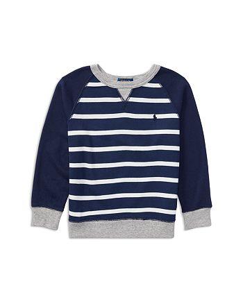 Ralph Lauren - Boys' Striped French Terry Sweatshirt - Little Kid