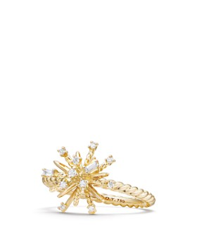 David Yurman - Supernova Ring with Diamonds in 18K Gold