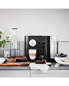 Nespresso - Expert Espresso Machine by De'Longhi with Aeroccino Milk Frother