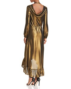 WAYF - Calista Cowl-Back Wrap Dress - 100% Exclusive