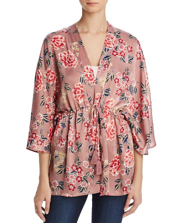$Cotton Candy LA Floral Print Kimono - Bloomingdale's