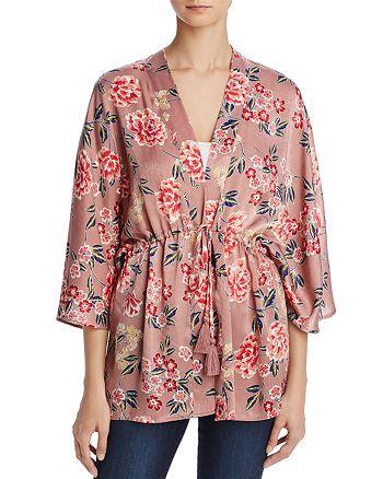Cotton Candy LA - Floral Print Kimono