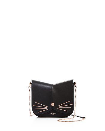 Ted Baker - Kittii Cat Leather Crossbody