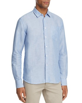 Vilebrequin - Regular Fit Long Sleeve Button-Down Shirt