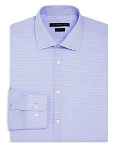 John Varvatos Star USA - Grid Regular Fit Stretch Dress Shirt