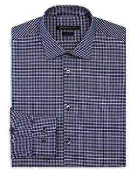 John Varvatos Star USA - Micro Check Slim Fit Stretch Dress Shirt