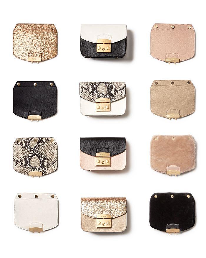 672161c567f1 Furla - MY PLAY Interchangeable Metropolis Mini Leather Flaps & Crossbody  Bags