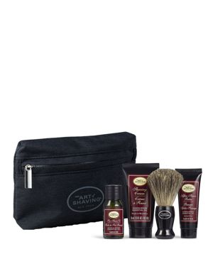 THE ART OF SHAVING Starter Kit With Bag, Sandalwood