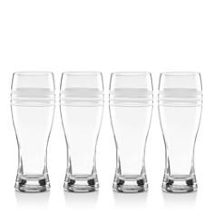 kate spade new york Library Stripe Wheat Beer Glasses, Set of 4 - Bloomingdale's Registry_0
