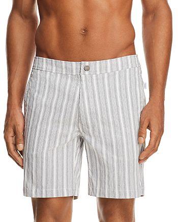 Onia - Calder Striped Swim Trunks