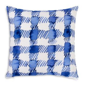 bluebellgray Printed Gingham Decorative Pillow, 16 x 16