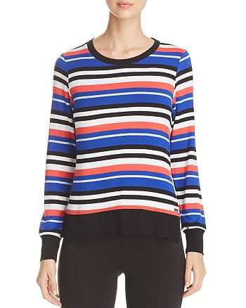 Marc New York - Stripe High/Low Top
