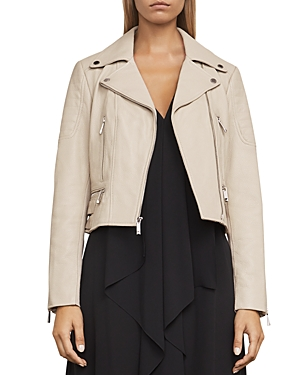 Bcbgmaxazria Billie Leather Moto Jacket