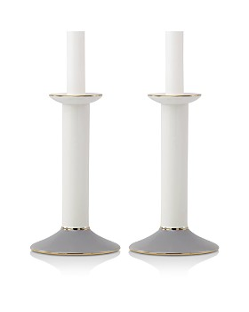 kate spade new york - Oak Street Candlesticks, Set of 2