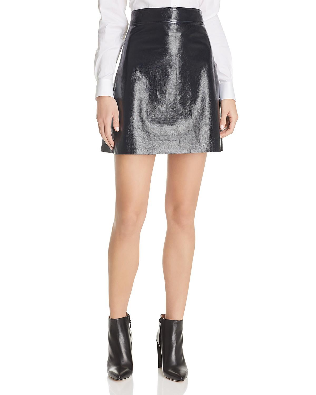 Shipping Discount Sale Cheap 100% Original Theory Leather Mini Skirt Cheap Sale Shop 100% Original Sale Online lmde5YJ